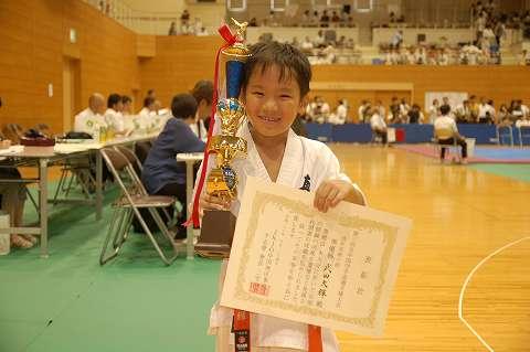 武田大輝 準優勝